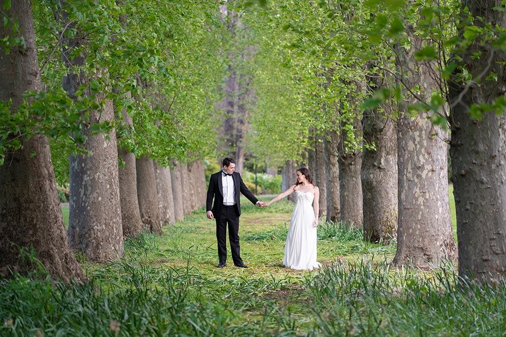 Wedding photography Melbourne Fitzroy gardens Step Garard 01