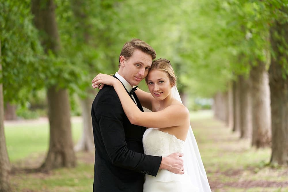 Wedding photography Melbourne Bride Fitzroy Garden Caley 2