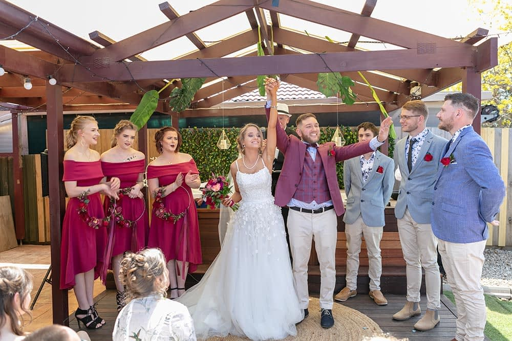 Wedding photography Melbourne Kaityln Levi bride groom ceremony 14