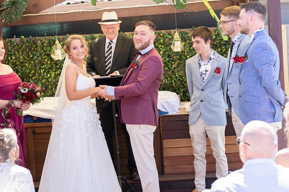 Wedding photography Melbourne Kaityln Levi ceremony 03