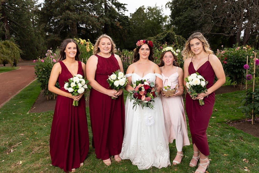 Wedding photography Melbourne bridal party Stacey