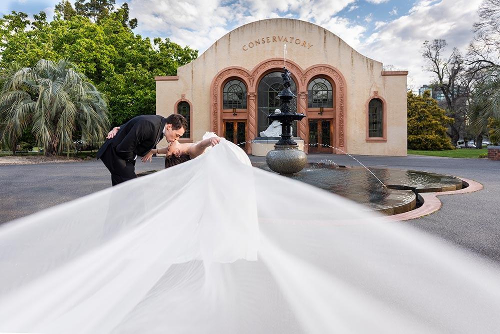 Wedding photography Melbourne Fitzroy gardens Step Garard 06