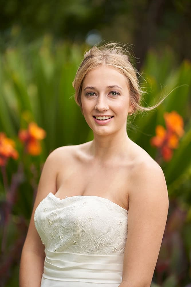 Wedding photography Melbourne bride portrait Caley