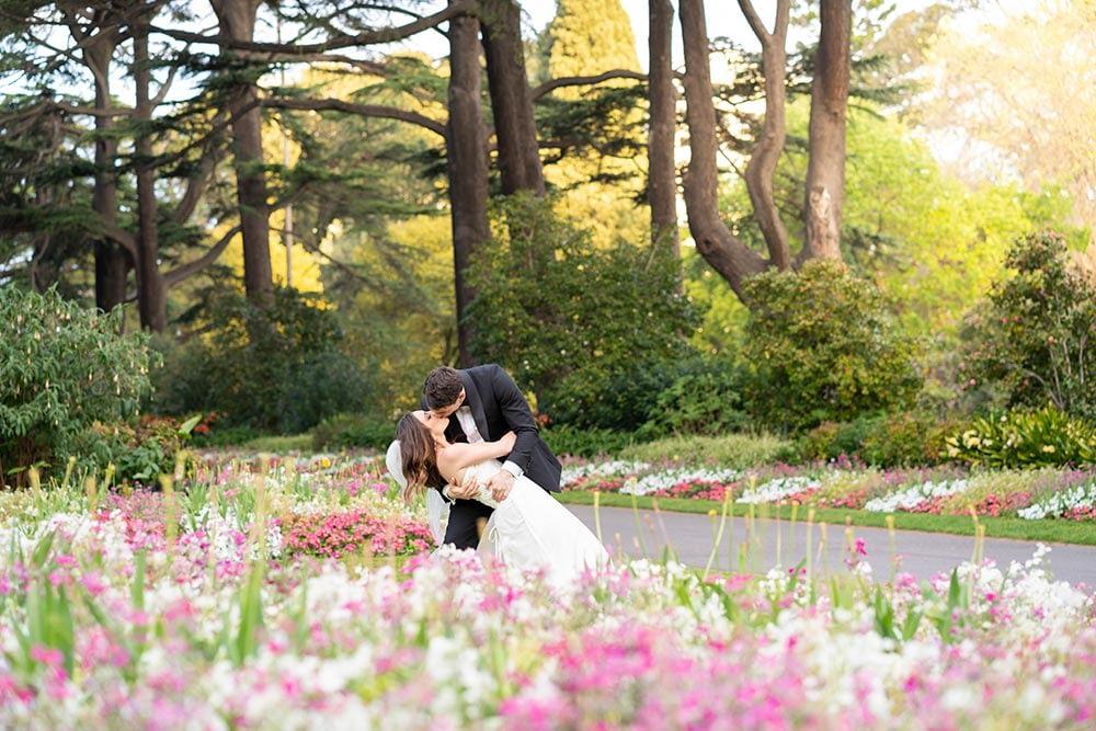 Wedding photography Melbourne Fitzroy gardens Step Garard 03