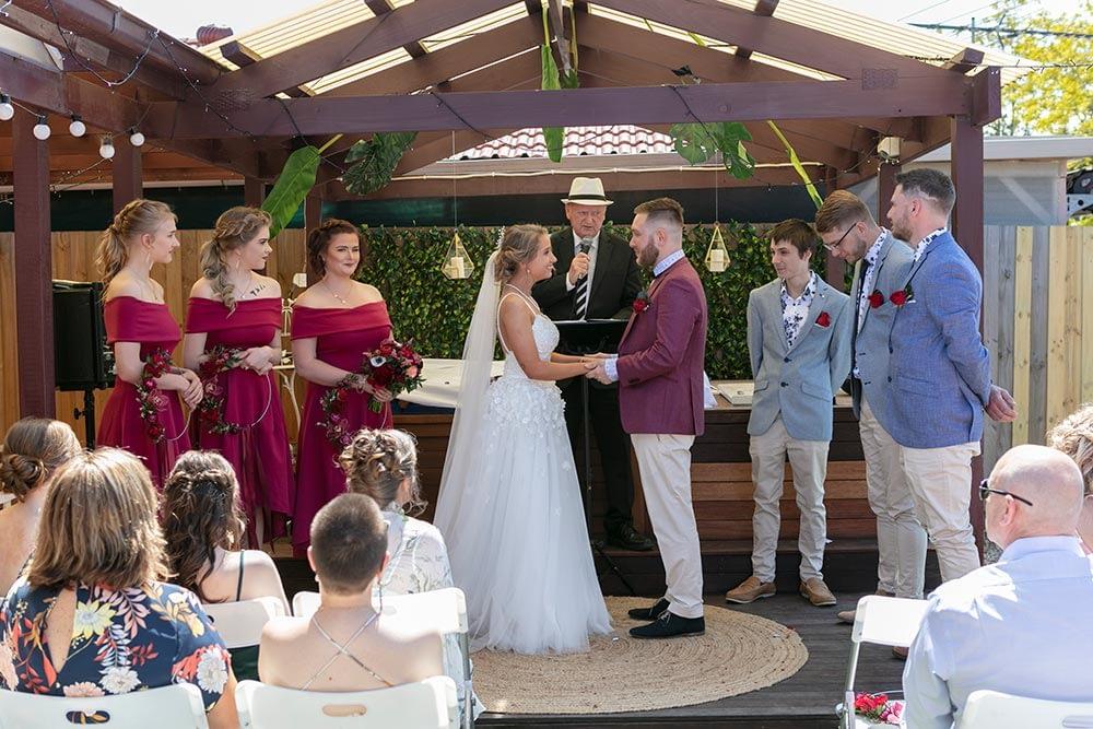 Wedding photography Melbourne Kaityln Levi bride groom ceremony 09